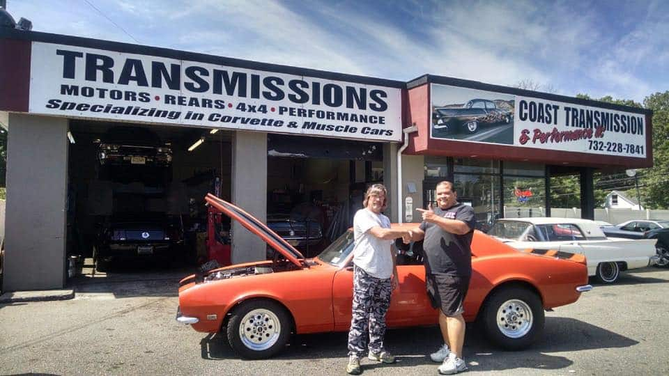 Camaro Transmission Rebuild